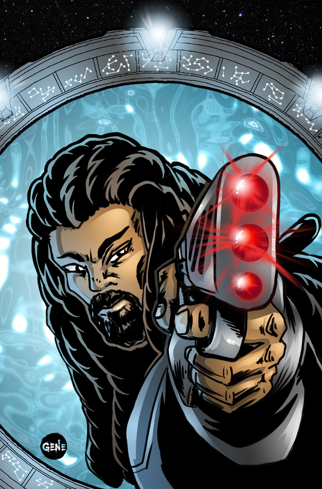 Stargate - Ronon - © MGM - All art by me.