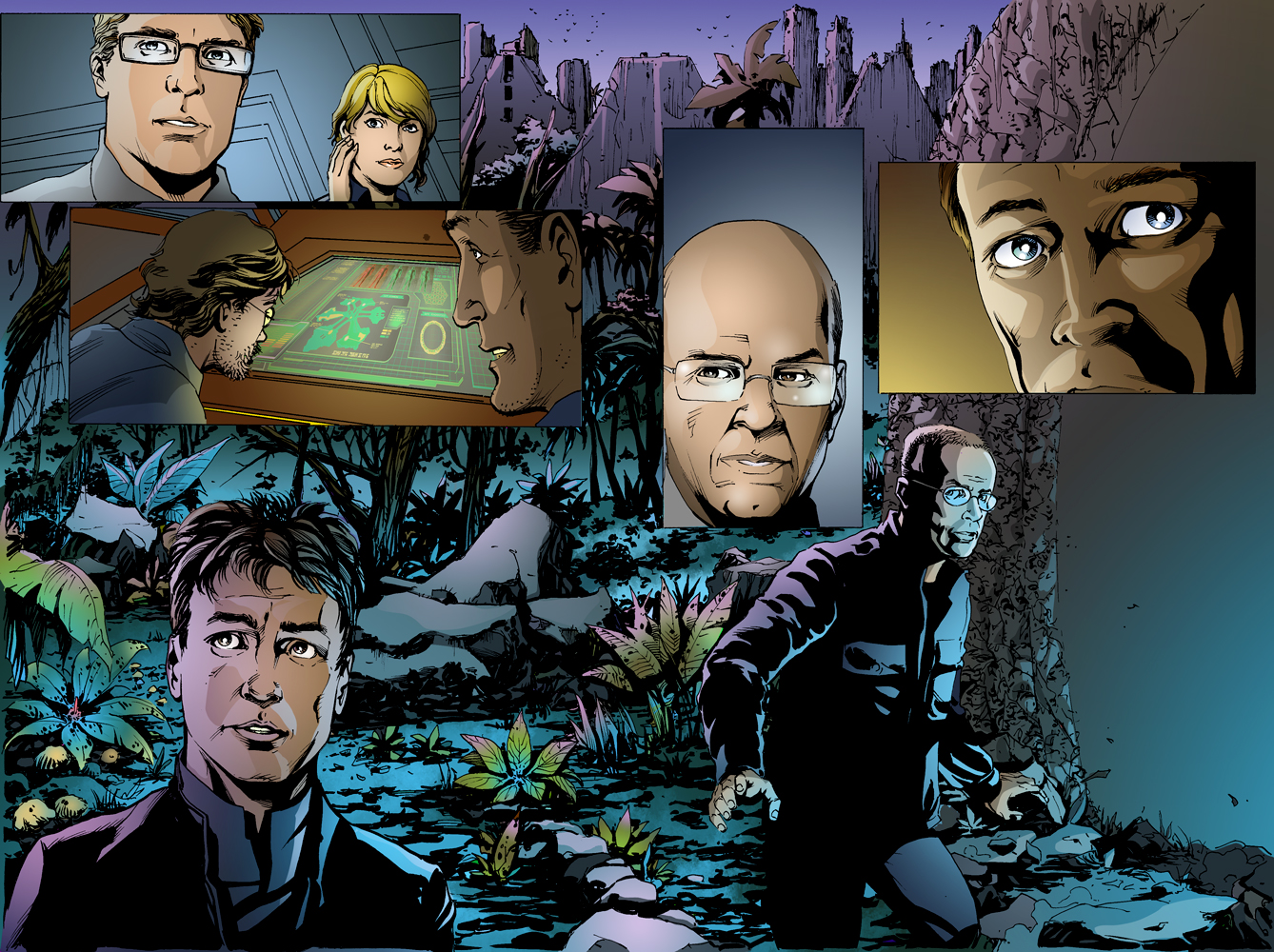 Stargate Atlantis - Sequence Pages - Spread1