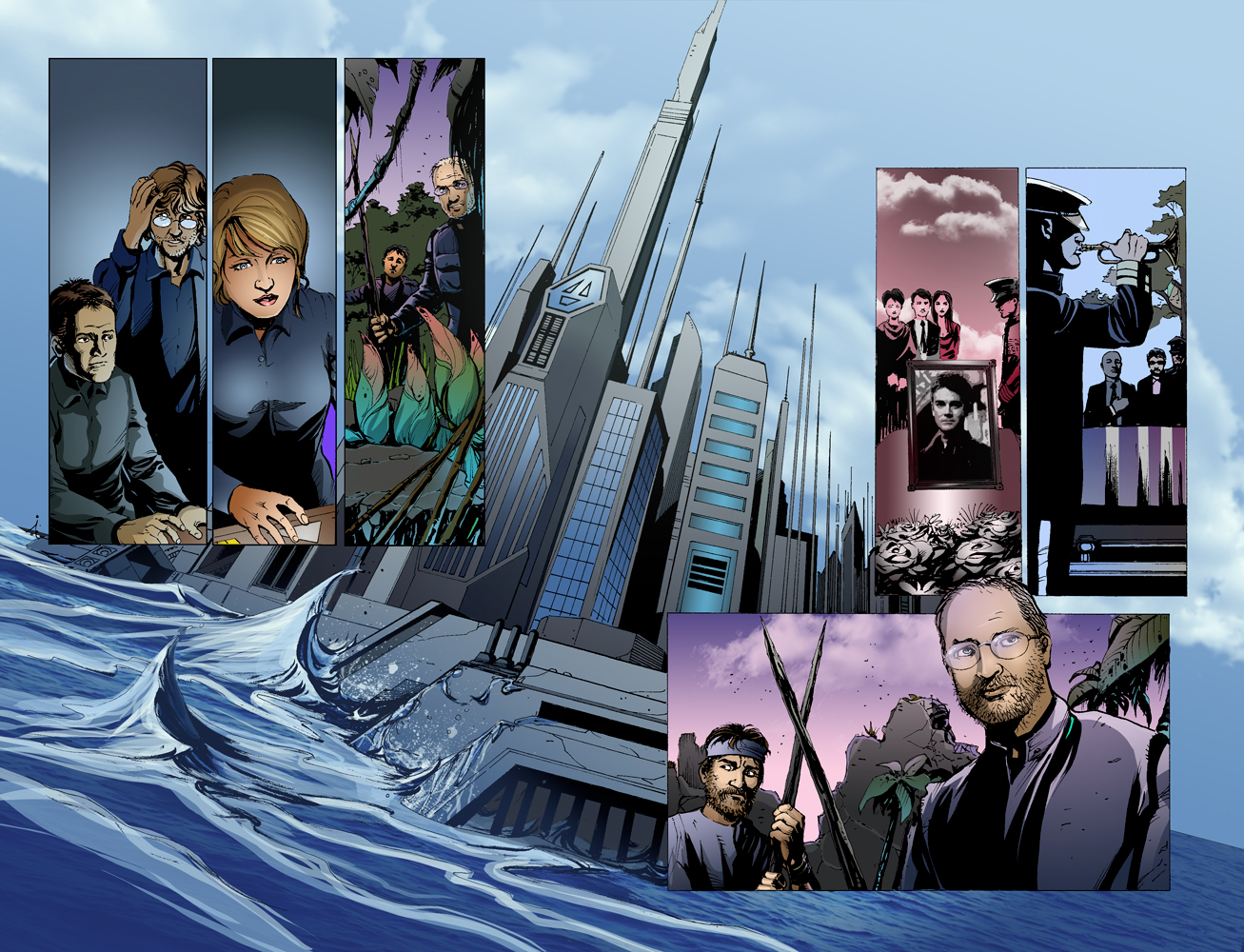 Stargate Atlantis - Sequence Pages - Spread2