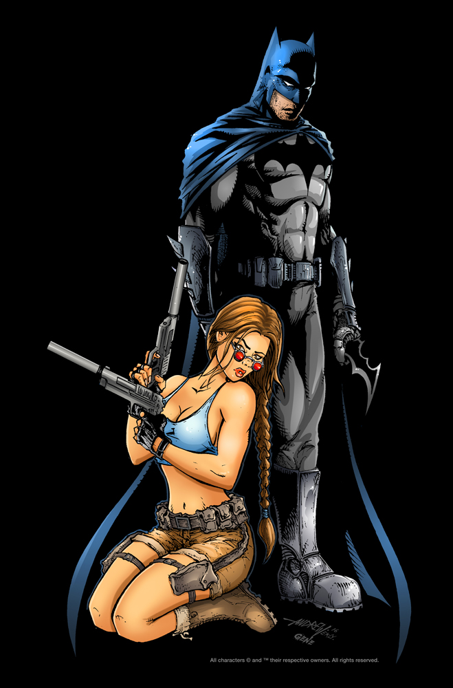 Batman/Lara Croft